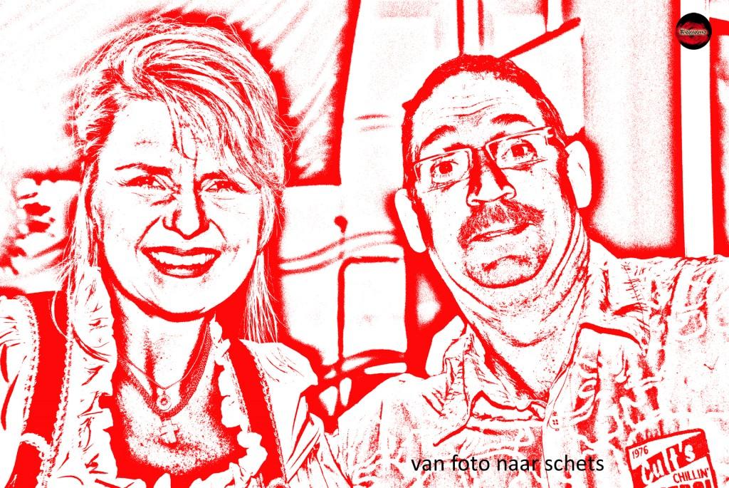 Angela Wiedl en Richard